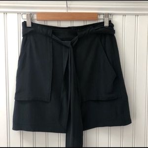 Madewell Lighthouse Silk Belted Skirt